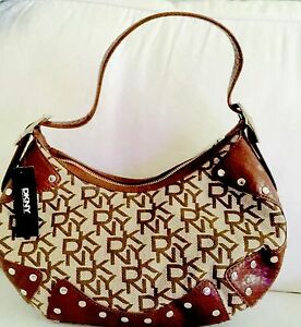 saddl Ladies studs Dkny W Handbag Colour Chino Xdqq8wnx6