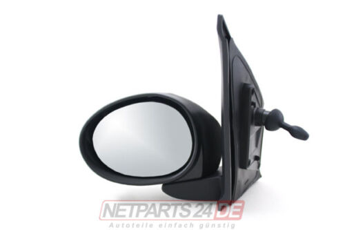 Außenspiegel Seitenspiegel links Citroen C1 06//05- Neu Fahrerseite lackierbar