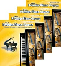 Alfred's Premier Piano Course Level 1B - Four Book Pack  Lesson/Theory/Perf/Tech