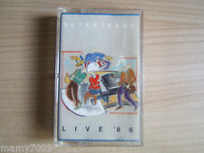 MC= SUPERTRAMP Live 88 1988 west germany A&M RECORDS 396 982-4