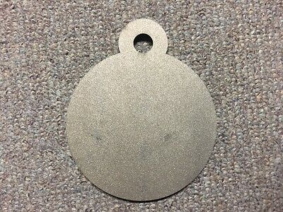 """USA MADE! AR500 Steel Targets Hanging Gong 3/"""" x 1//2 Set of 6 Pistol Plates IDPA"""