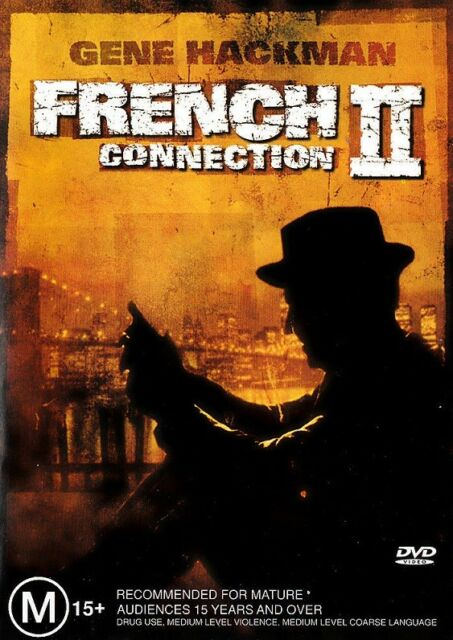 FRENCH CONNECTION II 2 (Gene HACKMAN Fernando REY) ACTION DVD NEW SEALED Reg 4