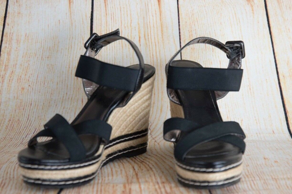 Women's Sandals BY  /ankle strap sandals sz. 9.5 CHARLES BY Sandals CHARLES DAVID Black e6984f