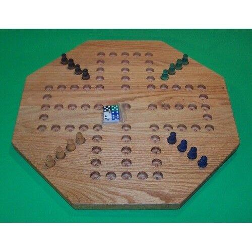 THE PUZZLE-uomo giocattoli W-1927 Wooden Marble gioco tavola  - Aggravation - 18 in. Oc...  economico in alta qualità