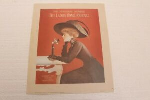 Ladies Home Journal Cover February 1912 Reprint