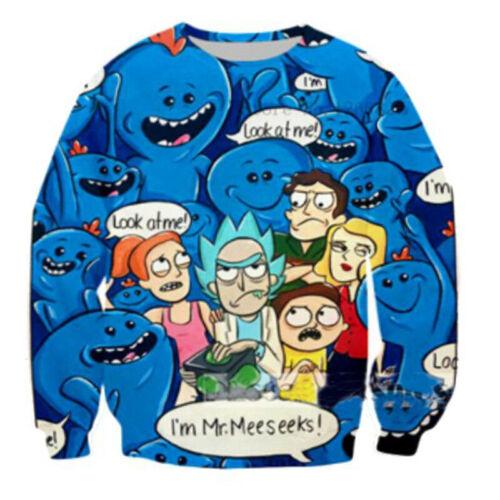 Fashion 3D Casual Sweatshirt Cartoon Cartoon Print Women Men Hoodies Tops