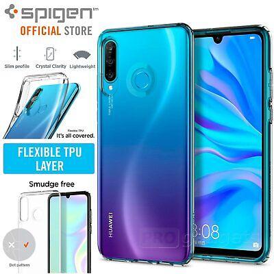 Huawei P30 Lite/Nova 4e Case, Genuine SPIGEN Slim Liquid Crystal Soft Cover
