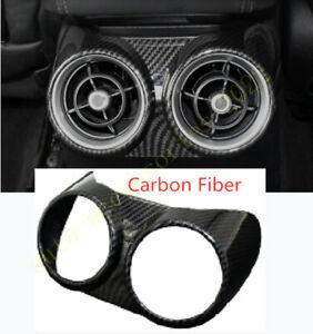 For Alfa Romeo Giulia 17-2020 carbon fiber inner rear air outlet vent ring trim