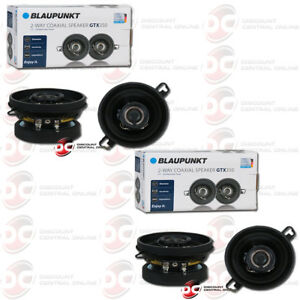 """4 x BRAND NEW BLAUPUNKT 3.5"""" 2-WAY CAR AUDIO COAXIAL SPEAKERS 200W MAX"""