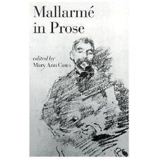 Mallarmé in Prose by Stéphane Mallarmé (2001, Paperback)
