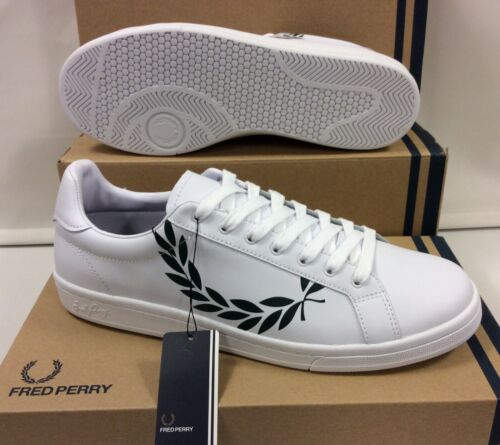 EU 47 Fred Perry Laurel Leather Men/'s Sneakers Trainers Shoes UK 12