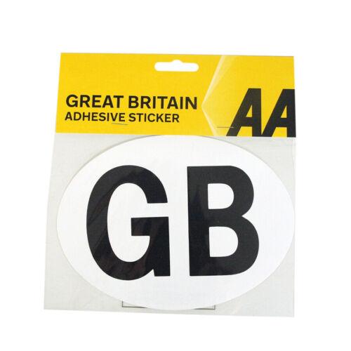 AA Car GB Sticker European Travel