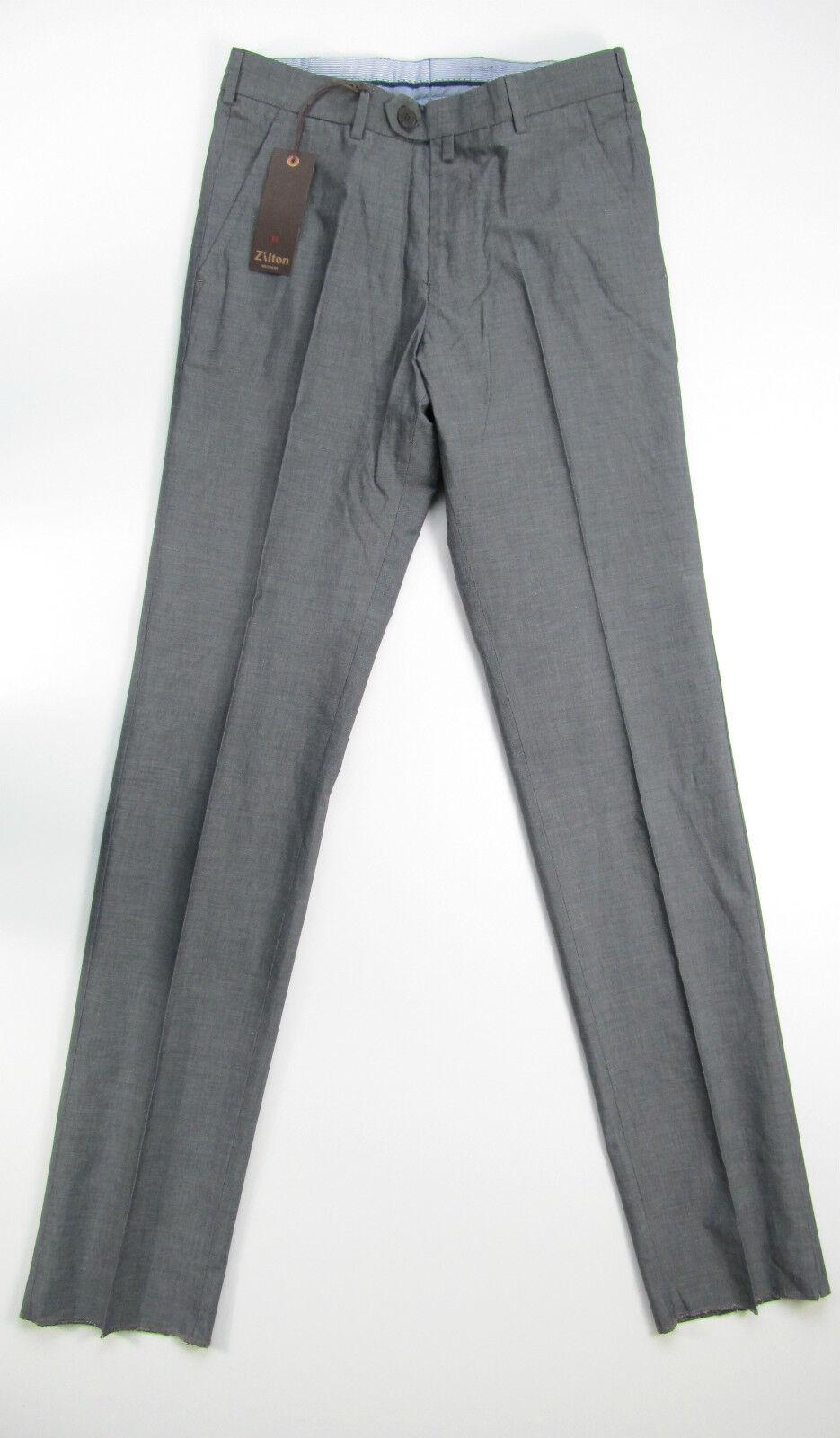 Zilton Pantalone Broek Hose Anzug grey Marcel 7391 47 Neu