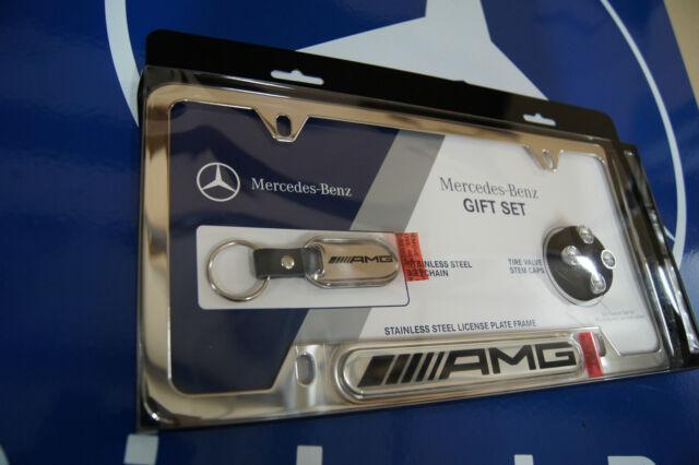 License Plate Frame For Mercedes Benz Chrome B C Cla Cls E