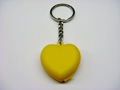 Tupperware Schlüsselanhänger Herz Gelb  SPECIAL COLLOR Nr 107  NEUEST
