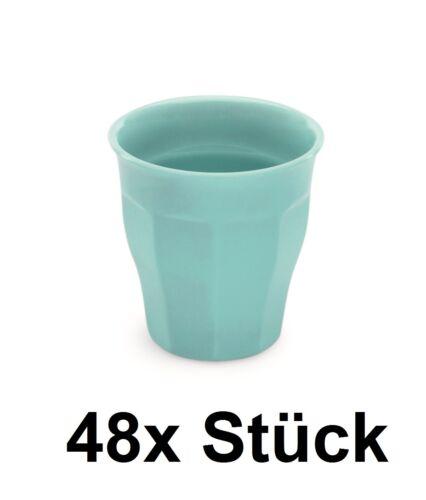 48x mélamine enfants gobelets gobelets coloré melaminbecher contenu: 0,165 L