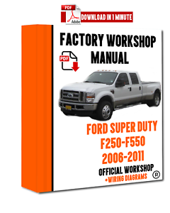 OFFICIAL-WORKSHOP-Manual-Service-Repair-Ford-Super-Duty-2006-2011