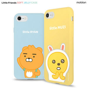 new arrival 29062 7ce95 Details about Genuine Kakao Friends Little Soft Jelly Case iPhone 8 Case  iPhone 8 Plus Case