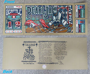 Worldwide Shipping Pearl Jam 2018 Seattle Home Shows Klausen