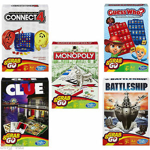 Hasbro-Classic-Travel-Board-Games-Connect-4-Monopoly-Battleship-Cluedo-Guess-Who