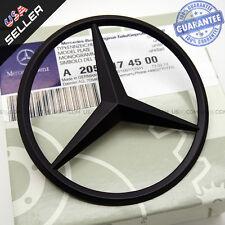 Genuine Black Benz Star Logo Trunk Rear Emblem W205 Badges Modified Decoration