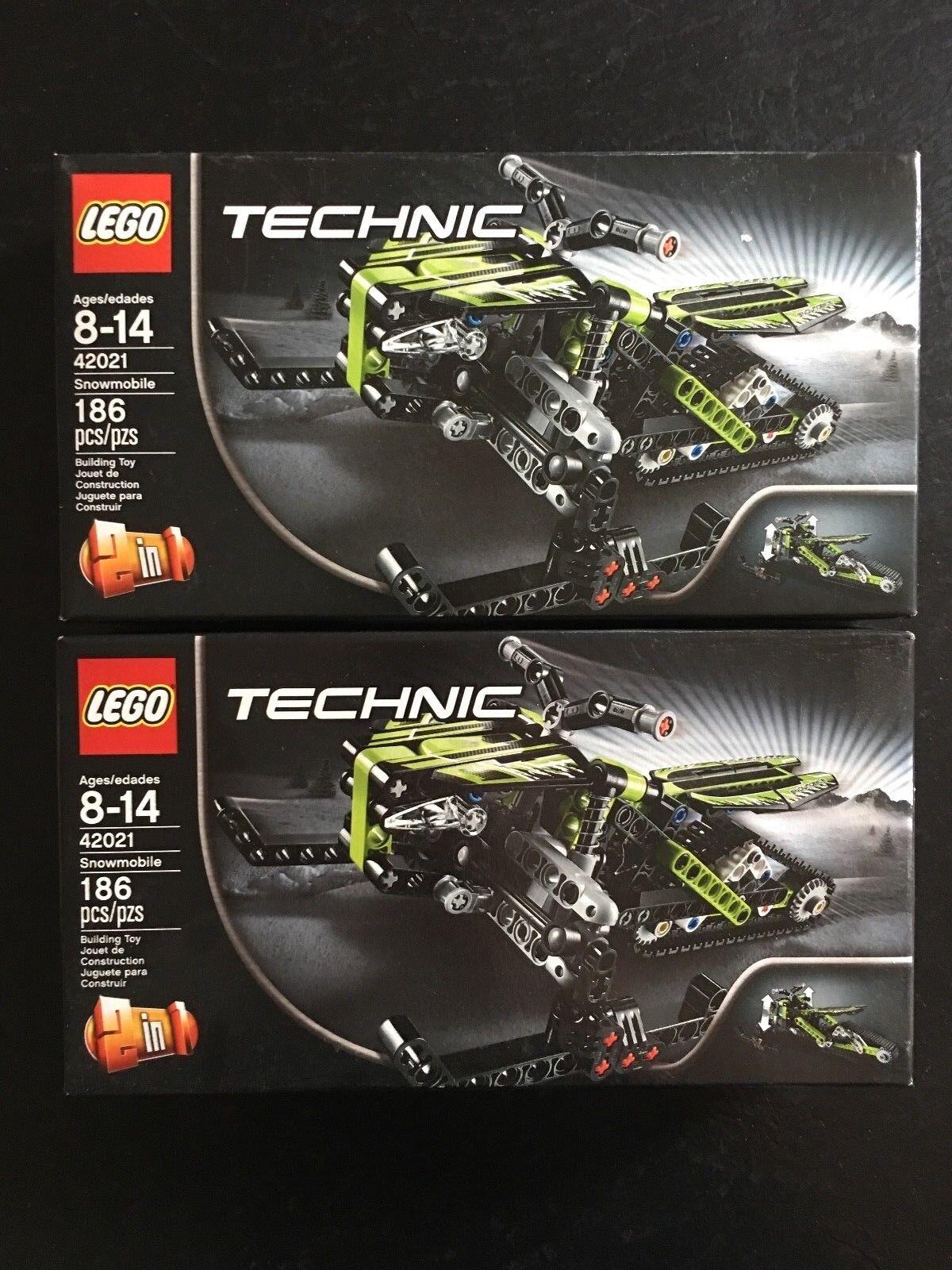 Lego Technic 42021 Snowmobile Set x2-conjuntos de sellado de fábrica-retirado