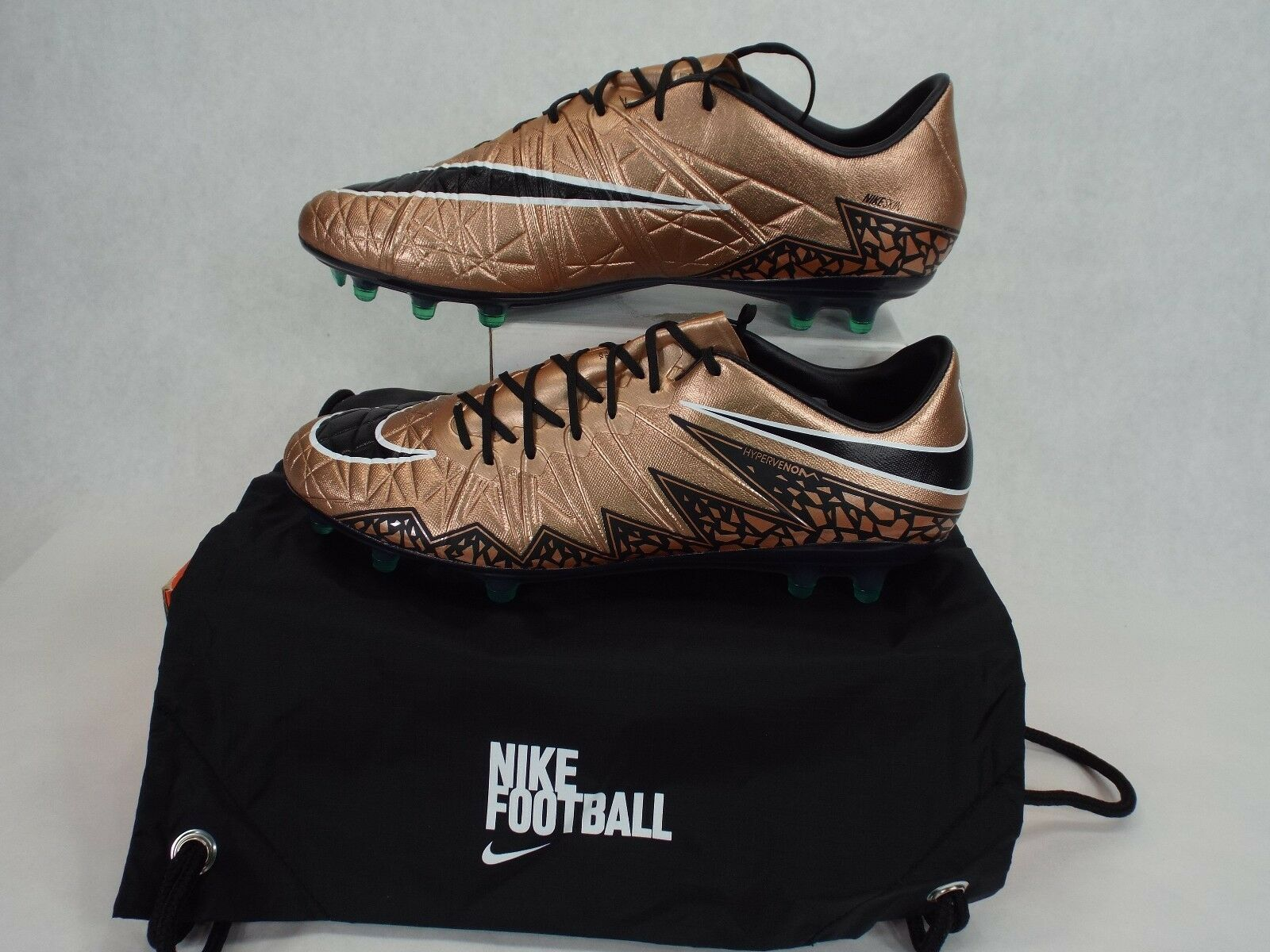 9152e27bacf7 ... coupon for new chaussures hommes 10.5 nike hypervenom phinish fg bronze  cleats chaussures new 200 749901