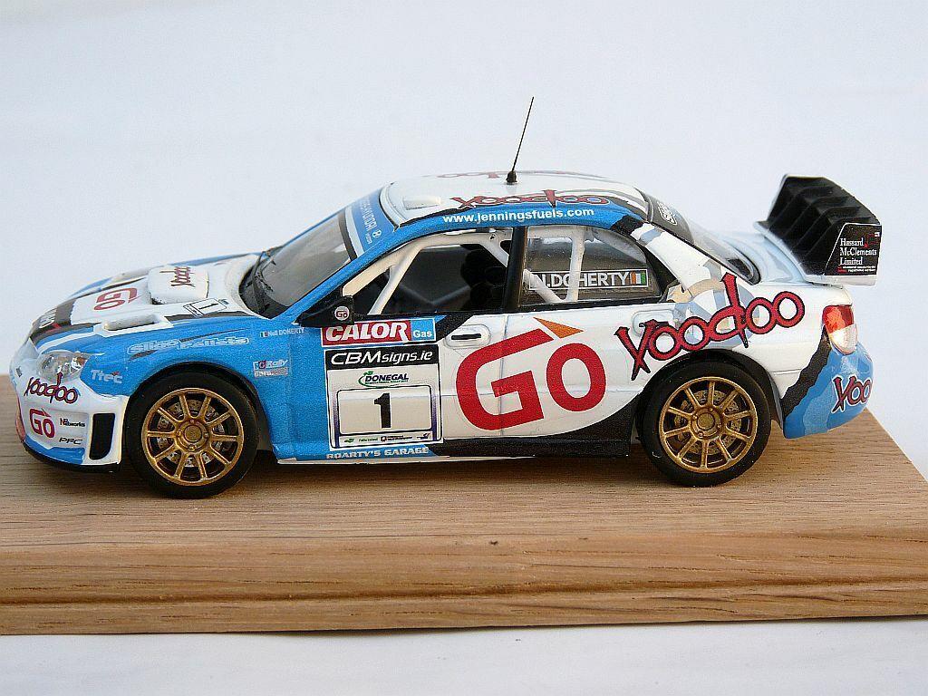 Jennings Doherty SUBARU IMPREZA WRC DONEGAL Rally 2013 1 43 code 3 superbe modèle