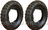 Two 3.50 - 8 Tire & Inner Tube For Suzuki Mt50