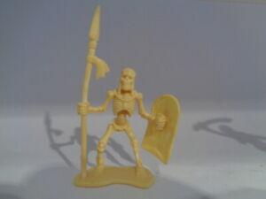 """1673-p1 Diplomatisch Skelett Soldat D2 """" 55 Mm Beige"""