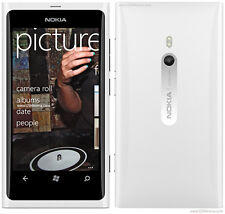 White New original Nokia Lumia 800 16GB (Unlocked) windows Smartphone 8MP 3.7""