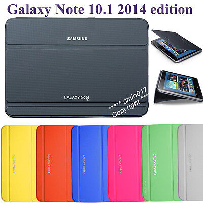 Slim Thin Case BOOK Cover For Samsung Galaxy Note 10.1 P601 P605 2014 Edition