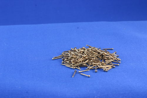 Fixation PINS 9.5 mm x 19SWG long pour maison de poupées Windows laiton PINS