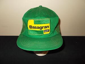 Details about VTG-1980s Basagran BASF farming ag seeds mesh snapback hat  sku24