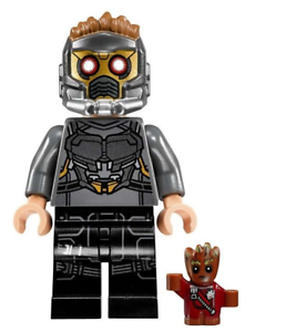 STAR LORD /& BABY GROOT MARVEL COMICS MINIFIGURE FIGURE USA SELLER NEW IN PACKAGE