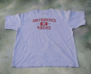 a814fbed8 Vintage Reebok NFL San Francisco 49ers T-Shirt  See Pictures For ...