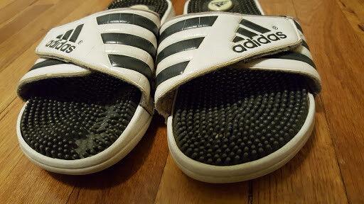 Pre Worn Flip Flop Günstige und gute Schuhe