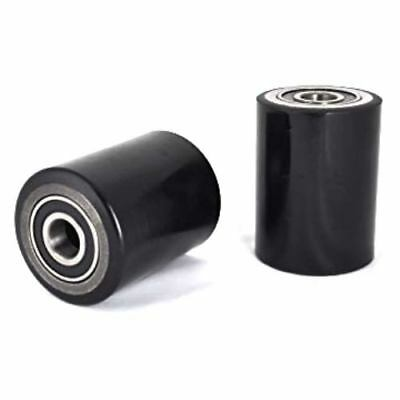 D20mm bearings D80 x W70mm P//U /& steel core pallet truck load roller// wheel inc