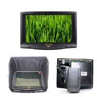 7 Lilliput 619a Hd 1080p Camera Hdmi Monitor Sunshade + F970 Adaptor + Hot Shoe