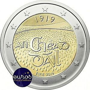 Piece-de-2-euros-commemorative-IRLANDE-2019-Dail-Eireann-UNC