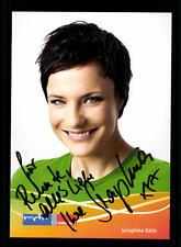 Seraphina Kalze MDR Autogrammkarte Original Signiert # BC 73528