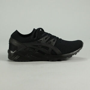 low priced 54c5f c6239 Details about Asics Gel Kayano Knit Shoes – Black new in box UK Size 7,9