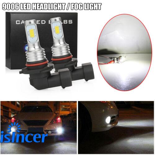 80W 8000LM 6000K 9006 HB4 LED Headlights Bulbs Set High//Low Beam White Upgrade