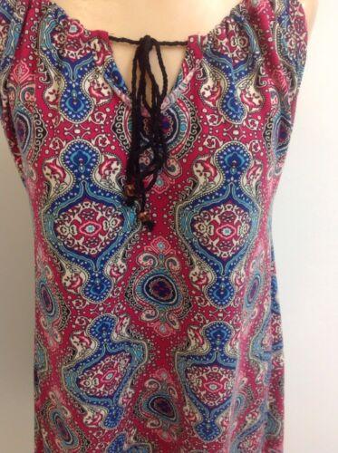 Simply Noelle Women/'s Sundress Multi Paisley