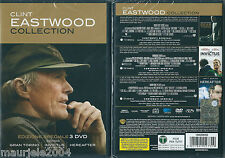 Clint Eastwood. Collection (2011) BOX 3 DVD NUOVO Gran Torino Invictus Hereafter