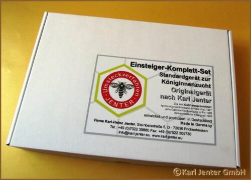 KARL JENTER Einsteigerset Komplettsystem,Königinnenzucht,Queen APISFARM