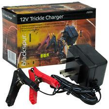 12 Volt Trickle Battery Charger Car Van Motorhome Caravan Motorbike Quad 12v