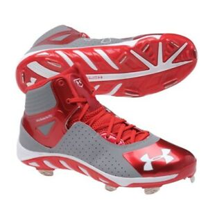 Under Armour Spine Metal Baseball Cleats Clutchfit Size 7
