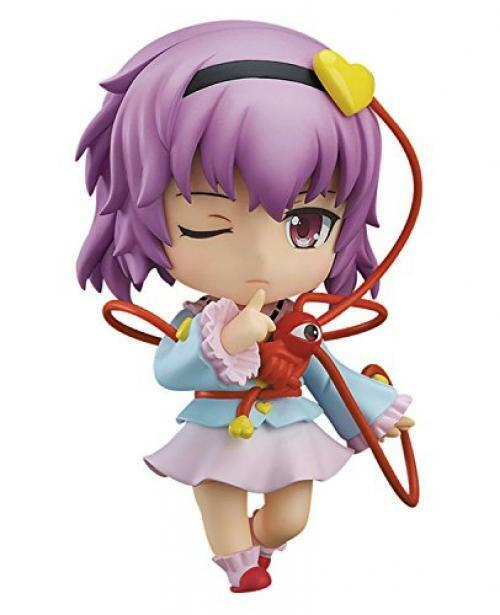 NEW Nendoroid 609 Touhou Project SATORI KOMEIJI Action Figure Good Smile Company