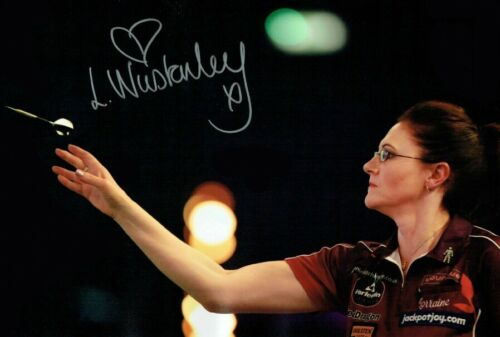Lorraine Winstanley Darts BDO Signed Autograph PRINT 6x4 GIFT